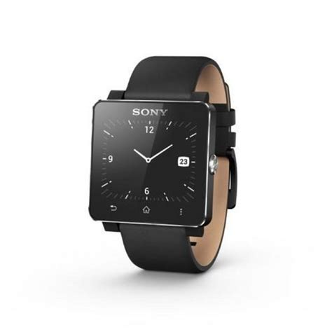 Sony Smartwatch Swr10 sony expected to release new smartwatch in early 2014 ubergizmo