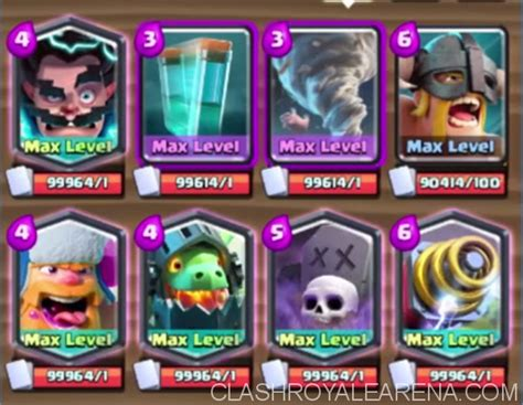 Clash Royale Gift Card - new cards gameplay tornado electro wizard elite barbarians and clone spell clash