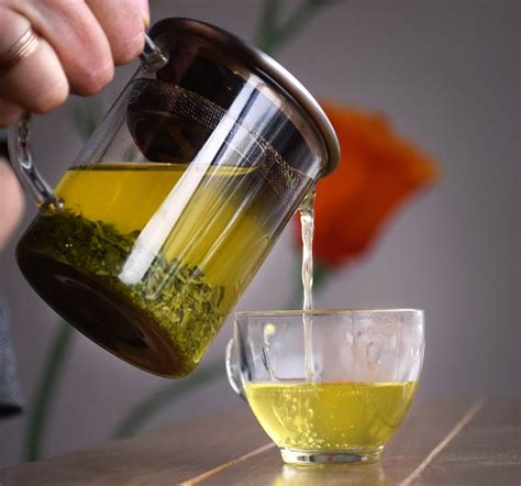 Brewing Green Tea Leaves - are you brewing your leaf tea properly