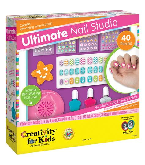 Nail Studio Kit creativity for kit ultimate nail studio joann