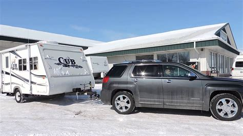 towing capacity gmc terrain customers leaving with a 2006 cub towing it with a compact