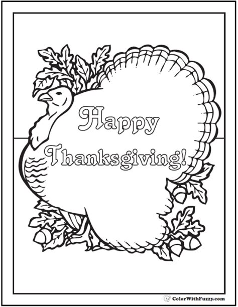 Free Thanksgiving Templates For Greeting Cards by Thanksgiving Printable Coloring Greeting Cards Coloring Pages