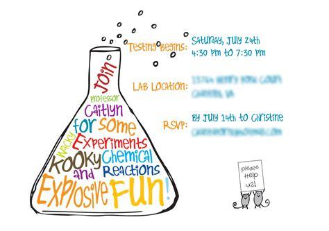 science party invitations gangcraft net