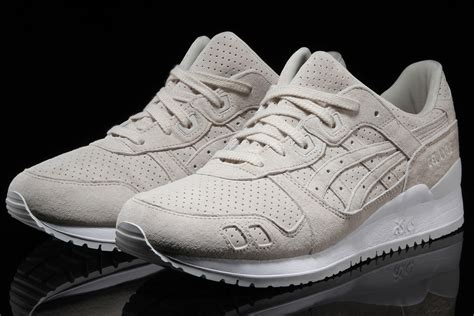 Asics Glyte Iii Perferroated asics gel lyte iii birch suede perforated sneaker bar detroit
