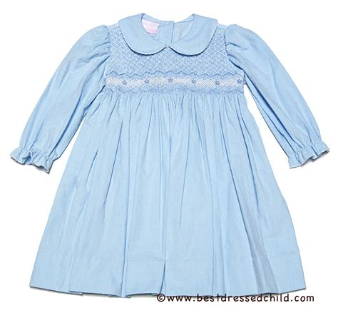 light blue toddler dress petit bebe by anavini baby toddler light blue