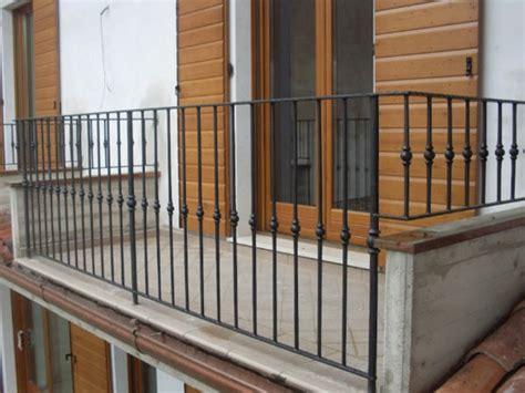 ringhiere per terrazze parapetti in ferro brescia ringhiere per balconi