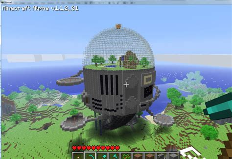 good minecraft house designs space dome minecraft building inc