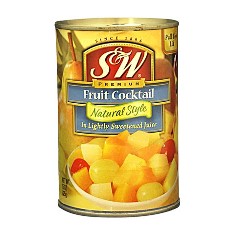 canned goods fruits s w fruit cocktail style
