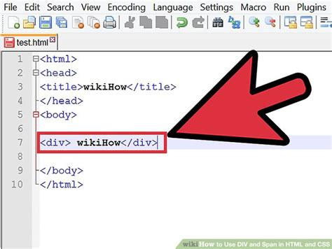 div in html how to use div and span in html and css 2 steps with