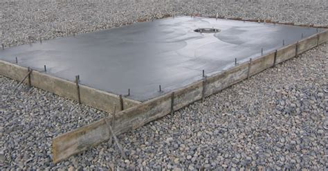 Laying A Base For A Shed by How To Lay The Concrete Shed Base
