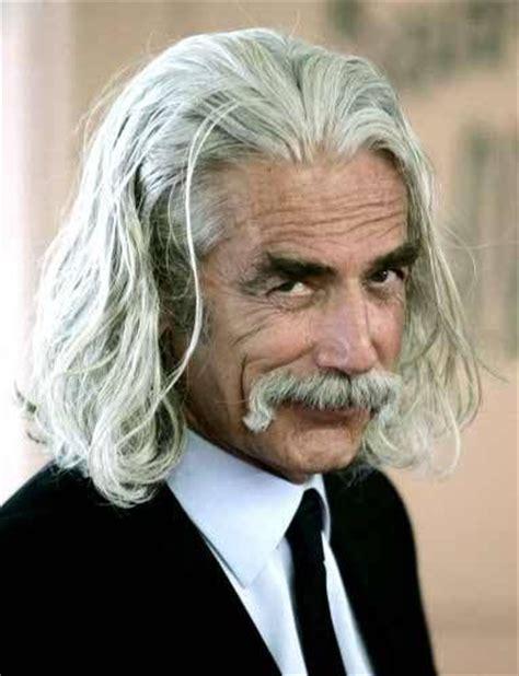 sam elliott long grey slickback hairstyle and handlebar mustache 323 best images about celebrities sam elliot katherine