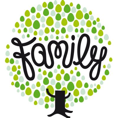 Familie Schriftzug by Family Yesterday Today And Tomorrow