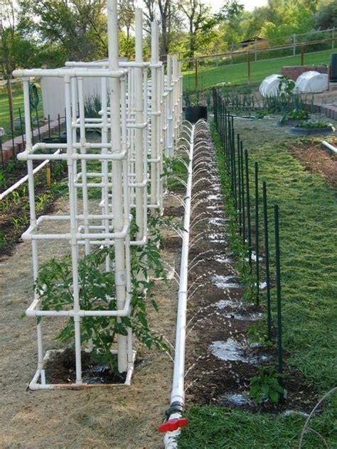 Garden Irrigation Ideas Pvc Watering Ideas Gardening