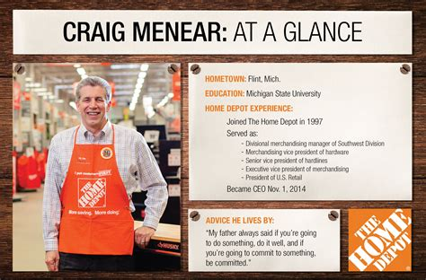 the home depot meet our new ceo craig menear