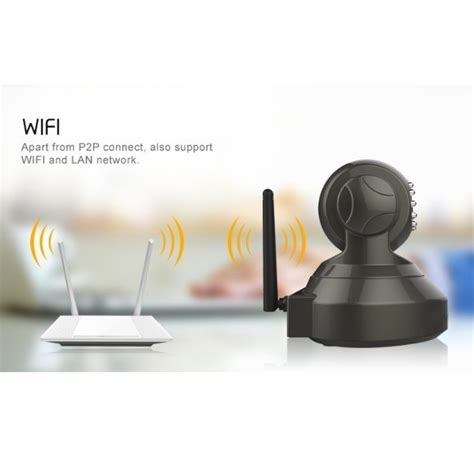 Escam Pearl Qf100 Wireless Ip Cctv For Android And Ios Murah escam pearl qf100 wireless ip cctv for android and ios 1 4 inch cmos black