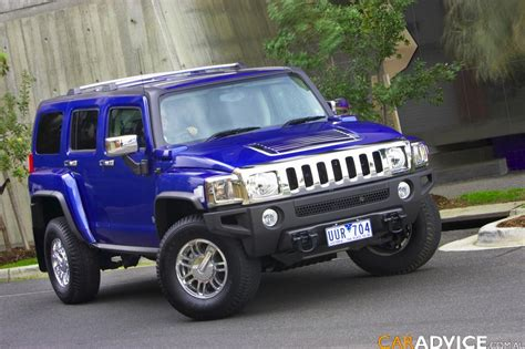 blue hummer auto sport tuning hummer h3 blue car wallpapers