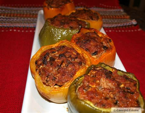 paleo recipes cavegirl cuisine paleo sausage stuffed peppers paleo recipes cavegirl cuisine