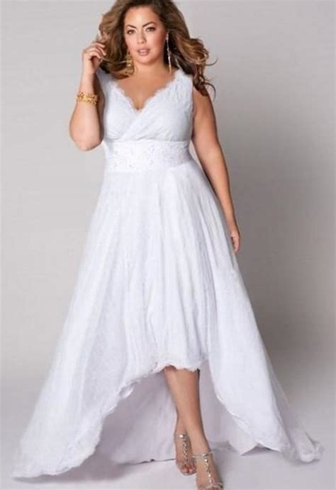 Size Informal Wedding Dresses by Plus Size Informal Wedding Dresses With Sleeves Pluslook