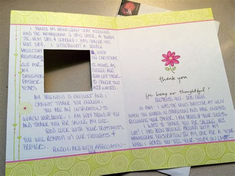 thank you letter to doctor for saving breast cancer survivor thanks robach for saving