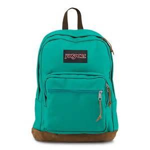 jansport right pack backpack spanish teal fantasyard