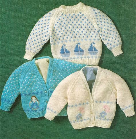 knitting motifs for babies knitting pattern baby s sweater cardigans with boat