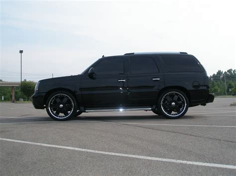 The Black Cadillacs by Cadillac Escalade Price Modifications Pictures Moibibiki