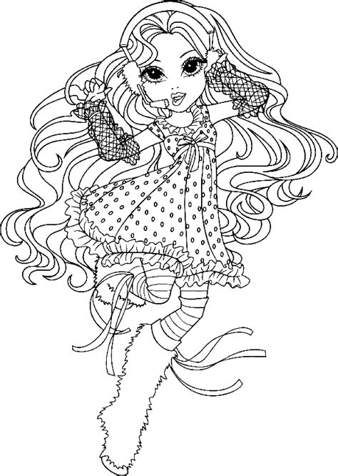 moxie girlz coloring pages 1 coloring kids