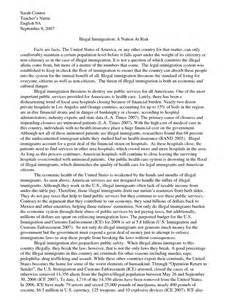 Immigration Reform Essay immigration essays