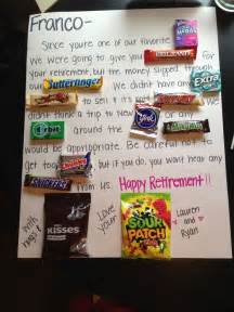 Ideas dads retirement gift ideas crafty gift retirement parties