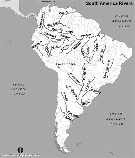 south america map black and white free south america rivers map black and white rivers map