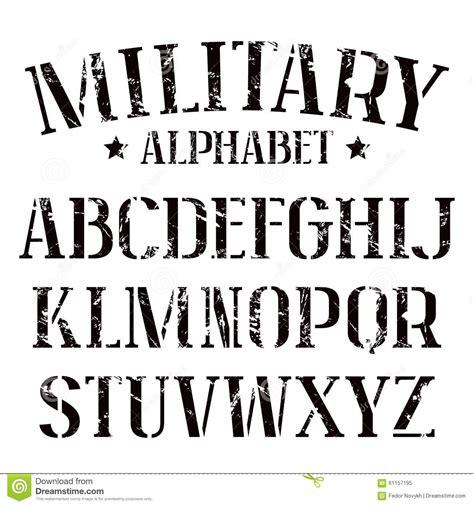 stencil lettere alfabeto da stare stencil plate serif font stock vector image of element