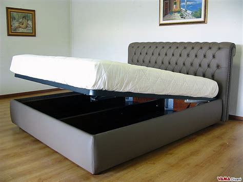 Bed Airland 2 In 1 chesterfield leather bed create your own custom model