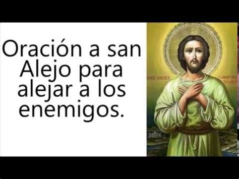 san alejo oracion para alejar malas lenguas enemigos pinterest the world s catalog of ideas