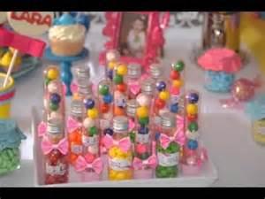 Diy birthday party favor decorating ideas youtube