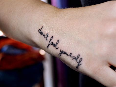 inspiring wrist tattoos inspirational quotes as tattoos quotesgram
