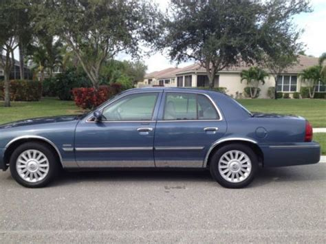 manual cars for sale 2009 mercury grand marquis free book repair manuals sell used 2009 mercury grand marquis ls ultimate in pompano beach florida united states for