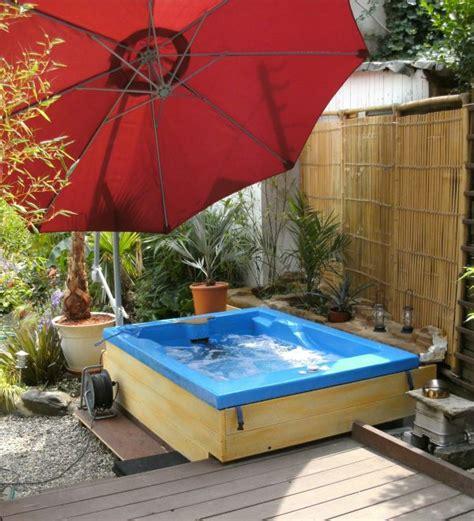 kleine pools für den garten im pool garten idee