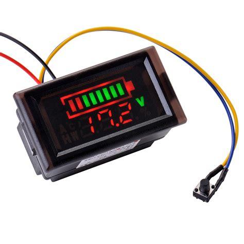 Led Möbelleuchte by 12v 24v Acid Lead Battery Indicator Intuitive Voltage