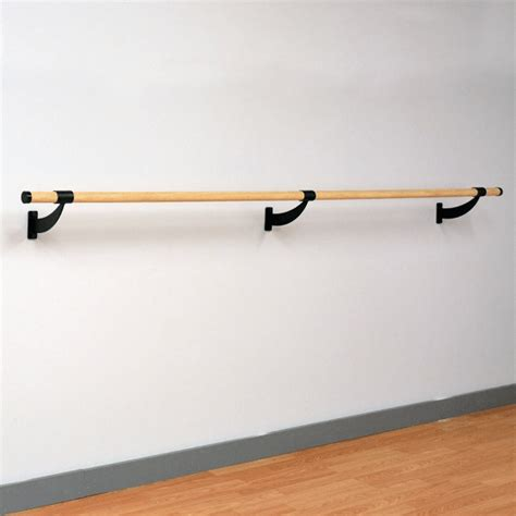 portable barre wood wall mounted ballet barre ft