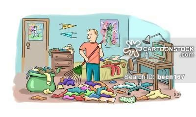 messy bedroom cartoon messy bedroom cartoons and comics funny pictures from