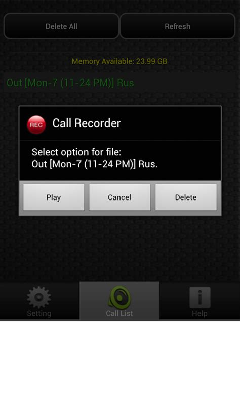 call recorder android ezi call recorder free android app android freeware