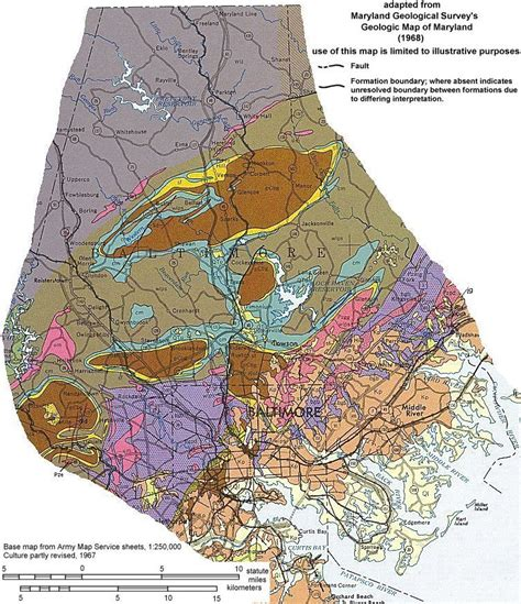maryland geologic map maryland geologic map swimnova