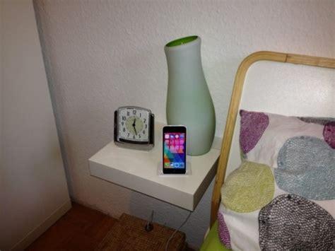 Ikea Lack Table Hack by Table De Nuit Diy Avec Rast Bidouilles Ikea