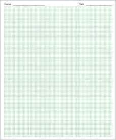 Printable Graph Paper   Download Free Documents in PDF