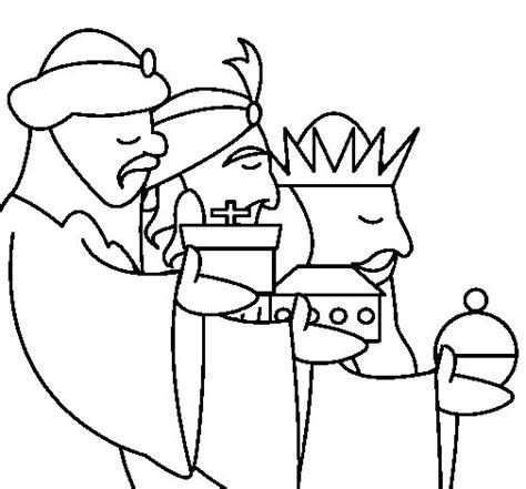 imagenes reyes magos para pintar dibujo de los reyes magos 3 para colorear dibujos net