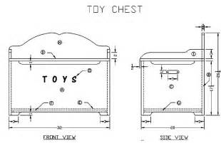 How To Build A Toy Chest For Beginners by Free Wood Toy Chest Plan Submited Images