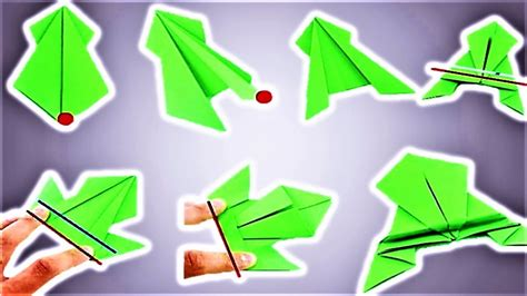 Origami Frog That Jumps - origami jumping frog tutorial step by step how to make a