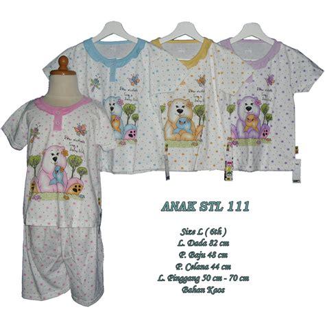 Stelan Baju Tidur Pdk All Size 48 piyama setelan anak murah harga grosir 111 size l hanya rp 25 000 00