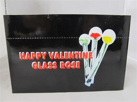 happy valentines glass happy glass 24ct display