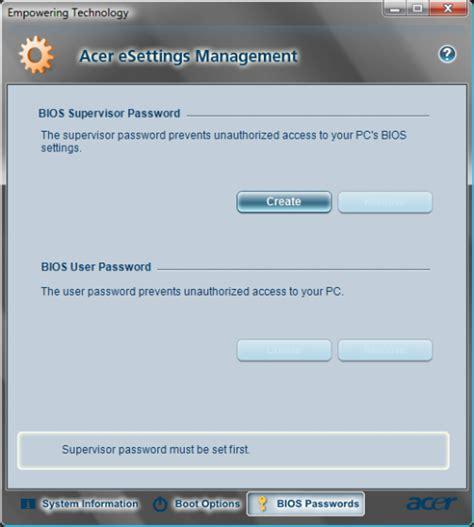 reset bios keyboard how to reset an acer bios password